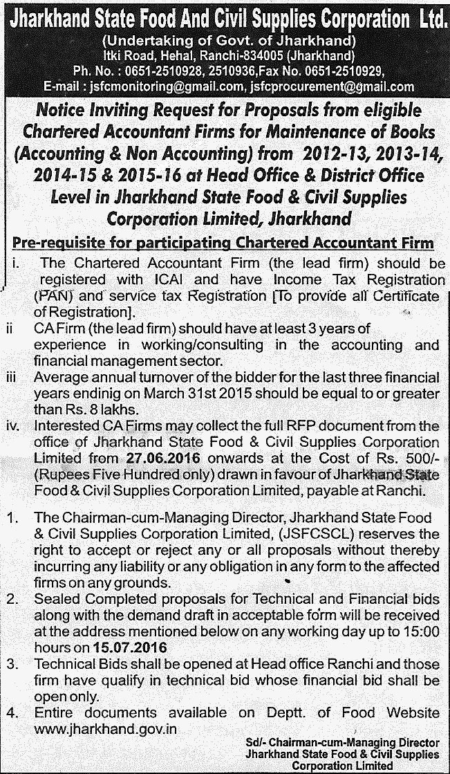 tend_Jharkhand_State_Food_And_Supply_Corporation_Limited_27.6.2016_2762016163720965
